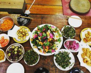 インスタ映え◎の畑の野菜たっぷりランチ