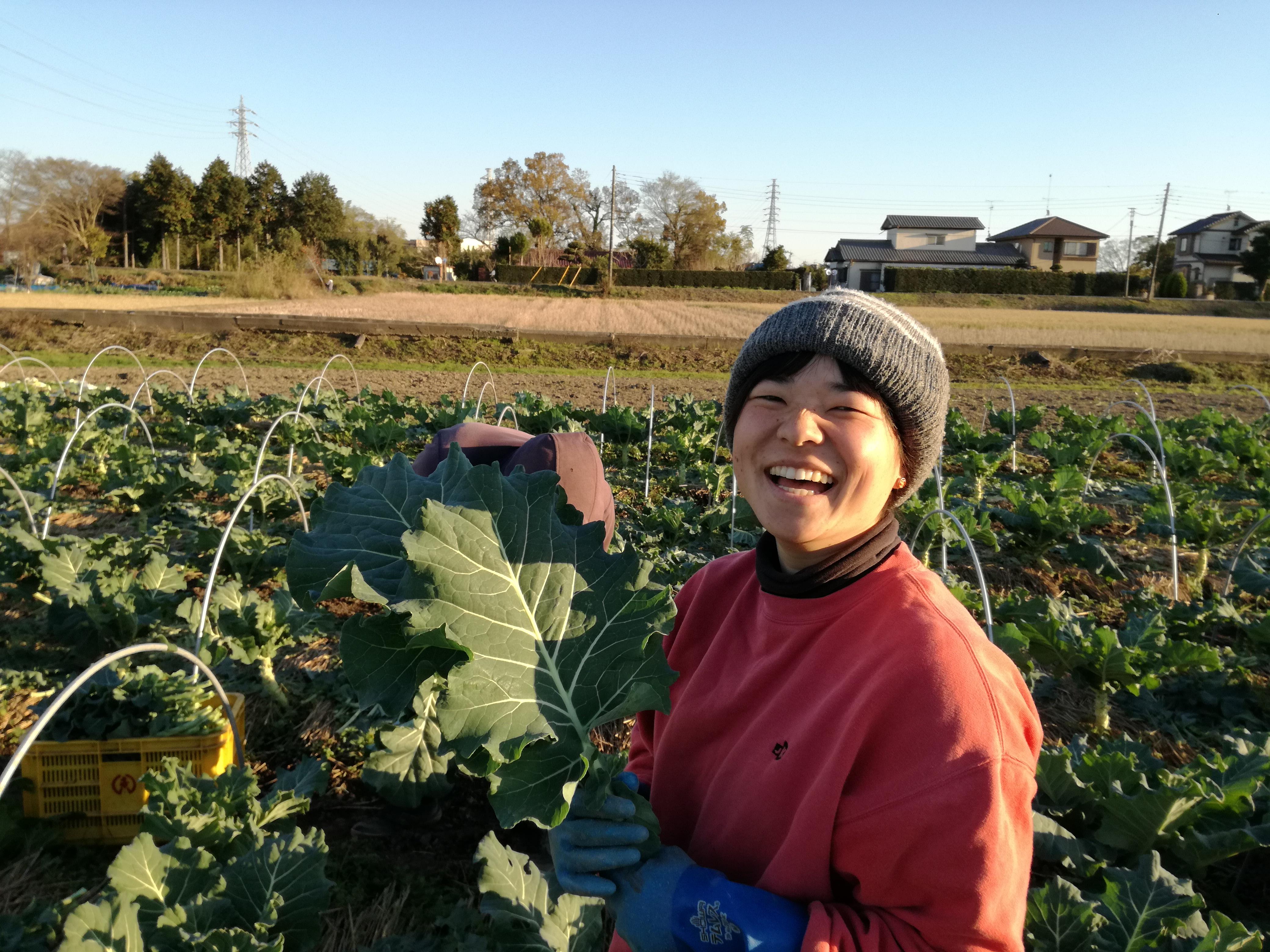 多部未華子似農業女子