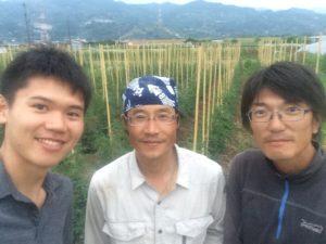 橋本自然農苑の橋本さんと有限会社辻喜の辻川さん