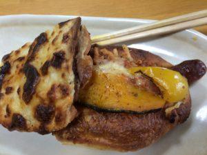 中川さんの小麦を使って作られたこだわりパン屋のパン