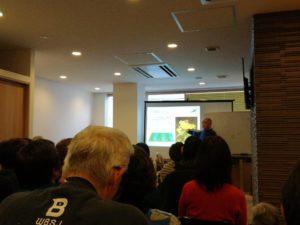 野口種苗の野口さんの『タネが危ない』講演会