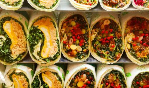 Kale Farmのラップサンド