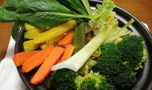 オーガニック野菜のお鍋