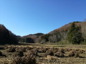 有機農業の町、小川町