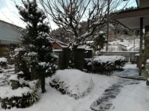 雪@熊本県小国町