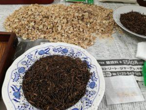Tao塾の菊芋三年番茶