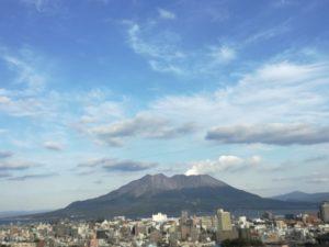 桜島絶景ポイント⑤通りすがりの場所