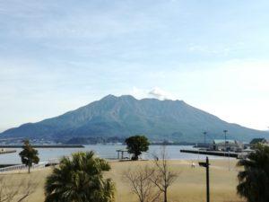 桜島絶景ポイント②ドルフィンポート
