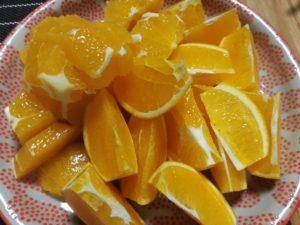 岩城島産のオレンジ