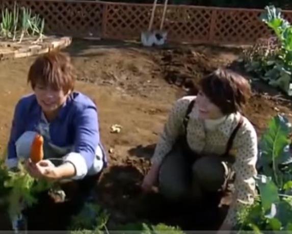 「趣味の園芸 やさいの時間」出演の長沢裕さんと杉浦太陽さん