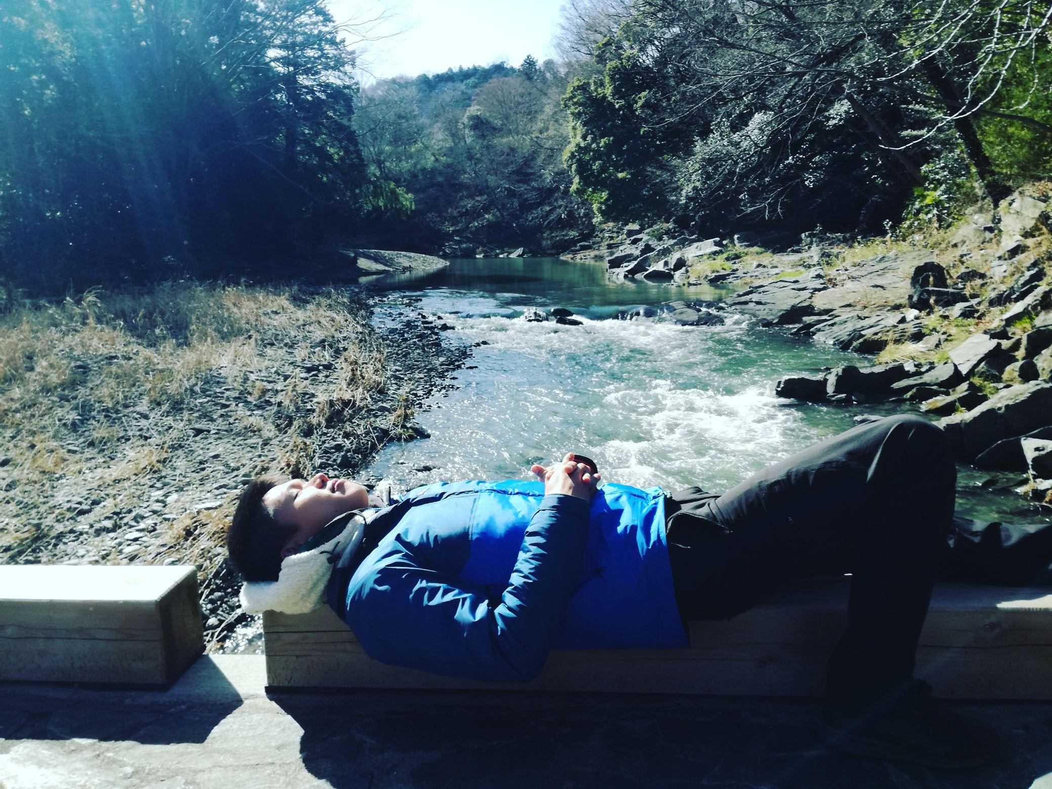 小川町近くの嵐山渓谷