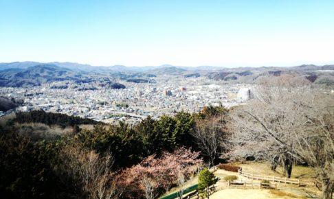 小川町を一望できる仙元山見晴らしの丘公園