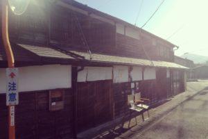 小川町の古い町並み
