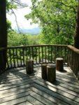 町有林の展望台