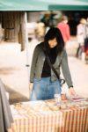 米粉のお菓子作りを行うコメっこ藤川さつ紀