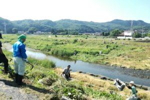 草刈り活動@小川町