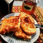 天然蜂蜜のフレンチトースト