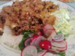 ラディッシュの間引き菜のサラダ