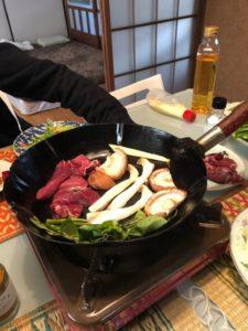 小川町の有機野菜焼肉