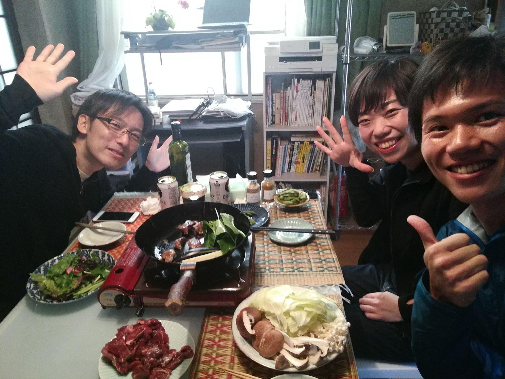 昼からビール・ジビエ・有機野菜の焼肉@小川町