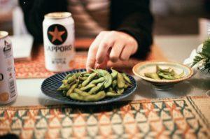 小川町の青山地区で代々栽培されてきた小川青山在来大豆