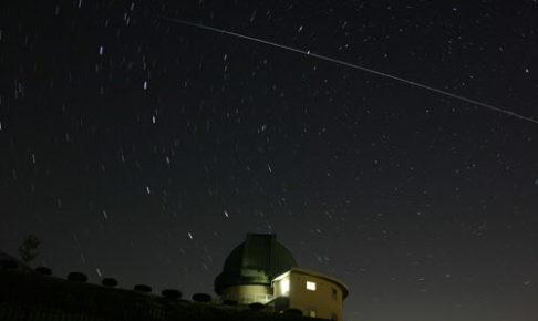 堂平天文台「星と緑の創造センター」の星空