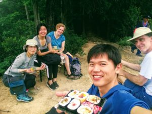 埼玉県小川町でハイキング