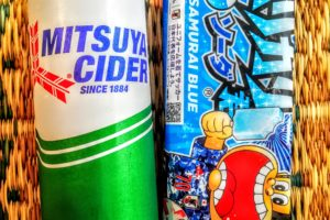 ガリガリくん(ソーダ味)と三ツ矢サイダー